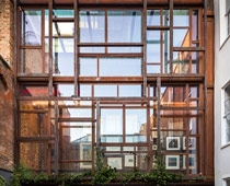 Layered Gallery Receives Merit in Structual Steel Design Awards